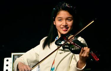 Child Violinist Clarissa