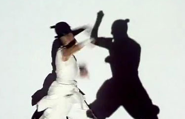 Video Mapping Dance and Combat