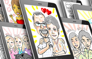 Digital Caricaturist Singapore
