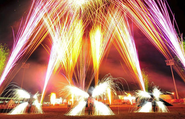 Fire and Pyrotechnic Show