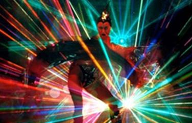 Laser Dance Show